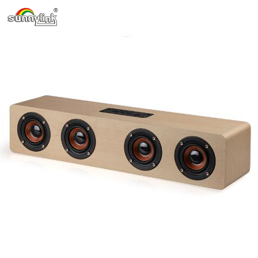 HIFI WIRELESS GAMING BLUETOOTH SOUNDBAR SPEAKER 12W PORTABLE MINI BLUETOOTH SOUND BAR SPEAKER , WITH BUILT-IN SUBWOOFER