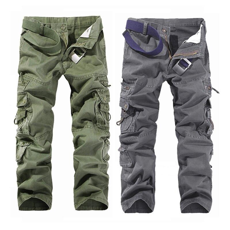 2019 Designer nou pentru bărbați Camouflage Pantaloni de marfă Man - Imbracaminte barbati