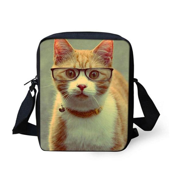 FORUDESIGNS/женская маленькая сумка через плечо с объемным рисунком собаки чихуахуа, модные женские сумки-мессенджеры, сумки через плечо - Цвет: S038E