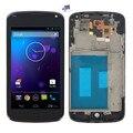 Para lg optimus google nexus 4 e960 screen display lcd de toque digitador + Moldura Quadro Assembléia Completa + Ferramentas Gratuitas Frete grátis