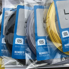 1 pc 1.25MM/ 17L tennis string 12M Spinox poly tennis rackets string 1 string for 1 racket