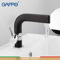 GAPPO Basin Faucet basin mixer tap waterfall bathroom black mixer shower faucets bath water mixer Deck Mounted Faucets taps