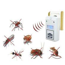 2019 latest ultrasonic electronic repeller new white Riddex Plus electronic pest rodent control repeller 220V