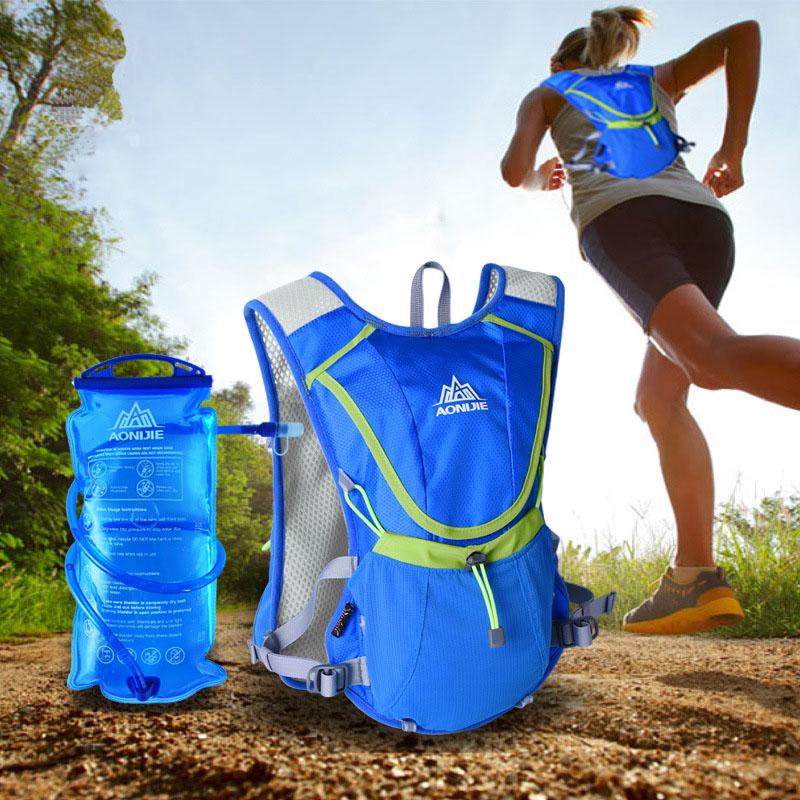 Prix pour AONIJIE extérieur bouteille d'eau sac d'eau 2l hydratation camelback tactique wasser flasche hydratation sac à dos sac d'eau