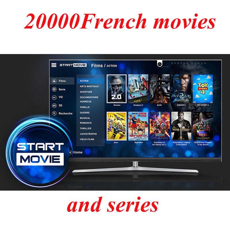 Начать французского кино подписки Iptv Профессиональный французского кино 20000 и серии