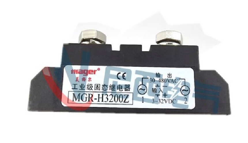 цена на mager SSR industrial grade module DC solid state relays control AC MGR H3200Z 200ADC-AC