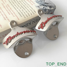 Free Shipping,1pair,2016 New Car Bumper / Wall Mount Bottle Opener,Crown Stationary Cast Iron Alloy,Kitchen,Club,Bar