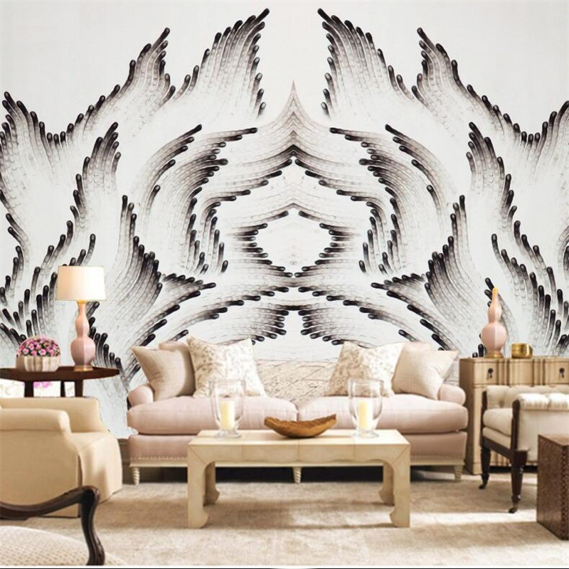 Free Desktop Wallpaper Modern Wall Decor Black and White Wallpaper Minimalist Fire Texture 3D Bedroom Wall Ppers Home Decor fashion letters and zebra pattern removeable wall stickers for bedroom decor