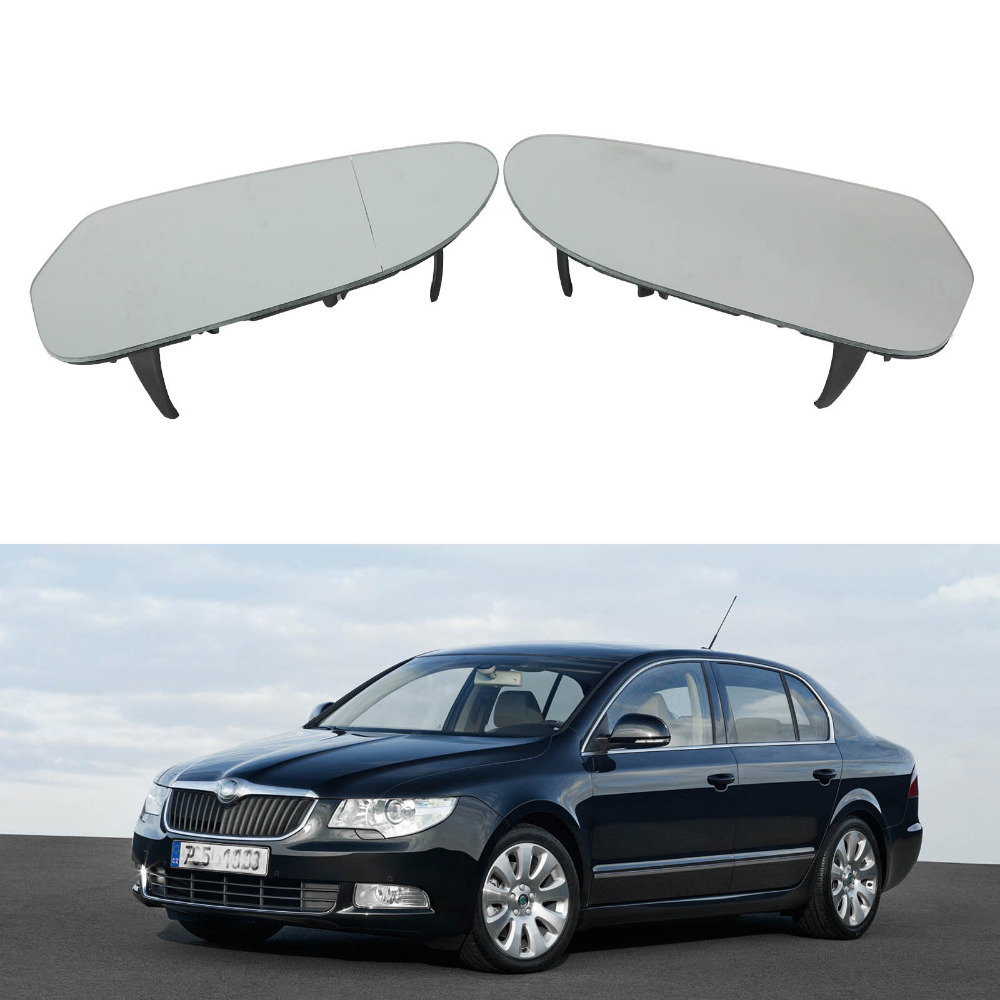 Car Mirror Glass For Skoda Superb Car-Styling 2008 2009 2010 2011 2012 2013 2014 2015 Heated Electric Wing Side Rear Mirror