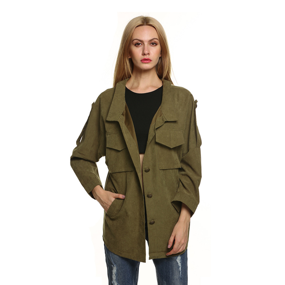 Military jacket female online shopping-the world largest military ...