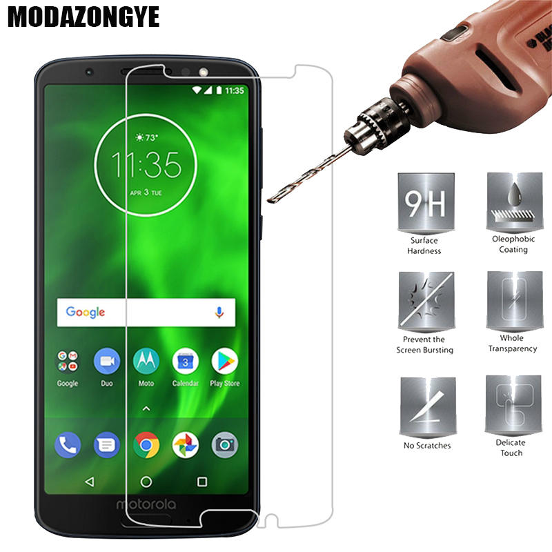Screen Protector For Motorola Moto G6 Tempered Glass Motorola Moto G6 Plus G6Plus G 6 G6+ XT1925 MOTO G6 Play Protective Film