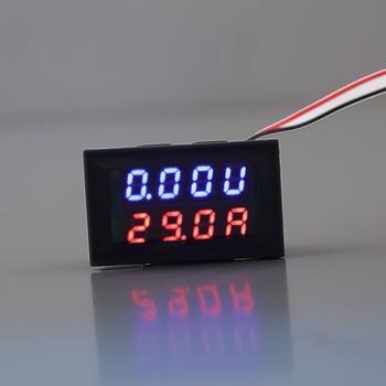 1pcs 100V 50A DC Digital Voltmeter Ammeter LED Amp Volt Meter Drop Shipping High Quality Sale Measuring Tools
