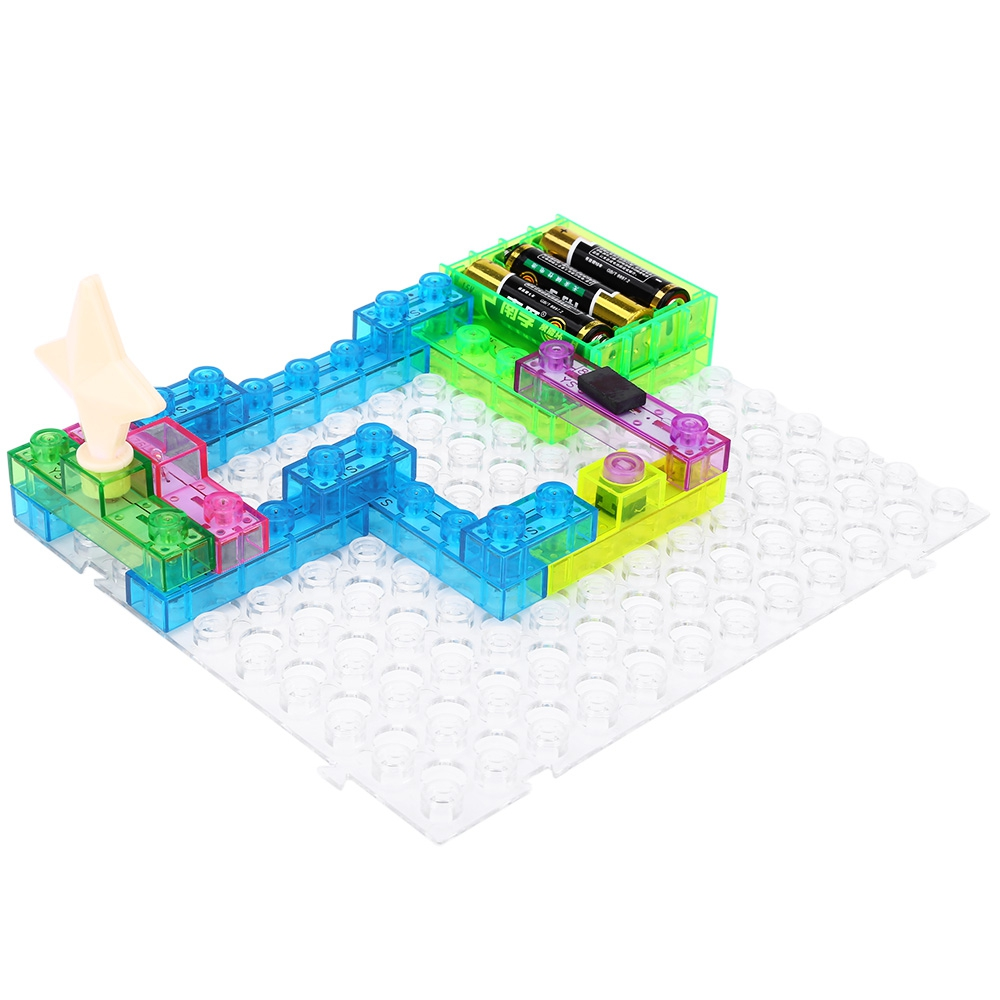120 Projects Ys2962 Integrated Circuit Building Blocks Electronic Kits For Kids Playground Educatioal Toy Plastic Model Science Toys In From