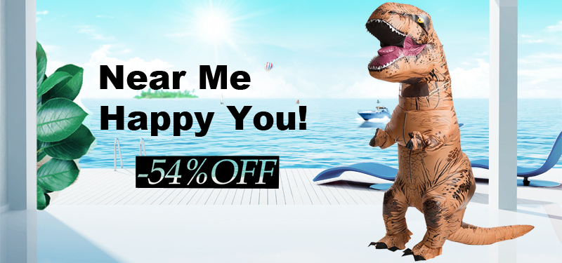 Adult T REX Costume Inflatable Dinosaur Party Costume Suit For Anime disfraces adultos costume Halloween Costumes for Women Men