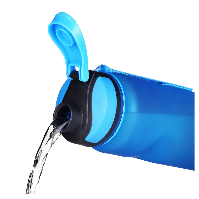 Hot KANGZHIYUAN 1000ML Sport Water Bottle Drinking Water For Bottles My Water Tea Infuser Scrub Portable