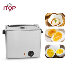 ITOP 2600W Electric Egg Boiler Egg Cooker About 30 Eggs Capacity With 6 Egg Baskets Kitchen Boiler Cooking Machine dsp egg boiler electric egg tray kitchen cooking tool 220 240v 350w mini egg boiler 7eggs 220v 350w