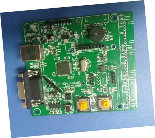 ATSHA204A Encryption Chip Development Board