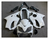 Motorcycle Unpainted White Fairing Cowl Body Work Kit For Honda CBR600F CBR 600 F F4i 2004