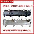 LittleMoon новая Подлинная бензиновая крышка клапана цилиндра для Peugeot 407 607 407cc Citroen C6 C5 3 0 0248H8 0248J0