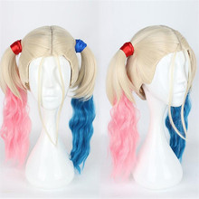 цена на Suicide Squad Harleen Quinzel Accessories Headwear Harley Quinn cosplay