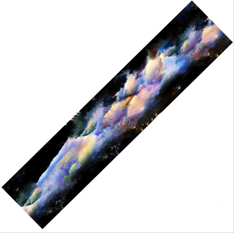 Image 5 - 1pc 122x26cm Dancing Longboard Griptapes Long Board Grip Tape Skateboard Griptapes Anti Slid Sandpaper Colorful Griptape-in Skate Board from Sports & Entertainment