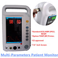 YK-8000A CE Portable Patient Monitor Vital Signs Monitor approved 7'inch TFT LCD Multi Parameter ( SPO2 + NIBP + ECG +RESP)