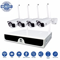 Wireless Kit 4CH Video Surveillance NVR 1080P IP Camera 2MP WiFi Camera CCTV System P2P CCTV Camera Wireless Surveillance System