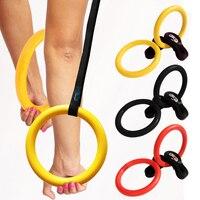 1 pair Điều Chỉnh Cơ Bắp Chinning Lộn Ngược Xuống ABS Workout Tập Thể Dục Thiết Bị Di Động Gym Nhẫn B2C Cửa Hàng