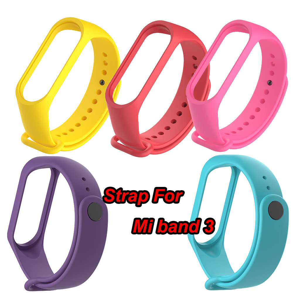 Joinrun Silicone Wrist Band Bracelet Wrist Strap and Protective film For Xiaomi Mi band 3