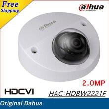 100% original Dahua HDCVI Camera 2MP WDR IR Dome Camera HAC-HDBW2221F Without Logo IR distance 20m Security Camera cctv cam