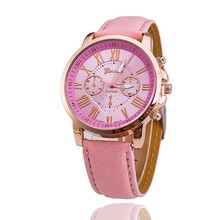 New Fashion Luxury Brand women Casual Quartz Watch Men Leather Strap Watches Relogios Masculinos Hot Sale Clock