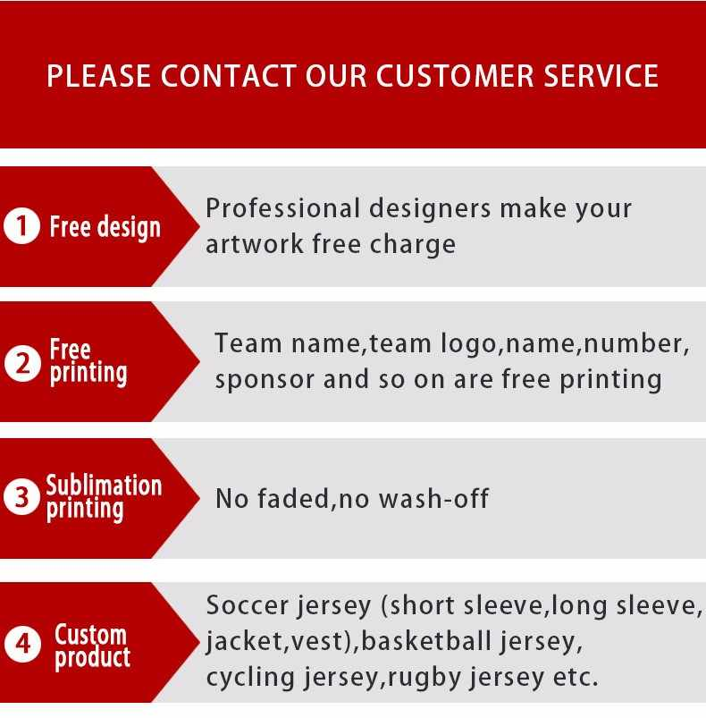 Detail Feedback Questions about custom unique football team's jersey