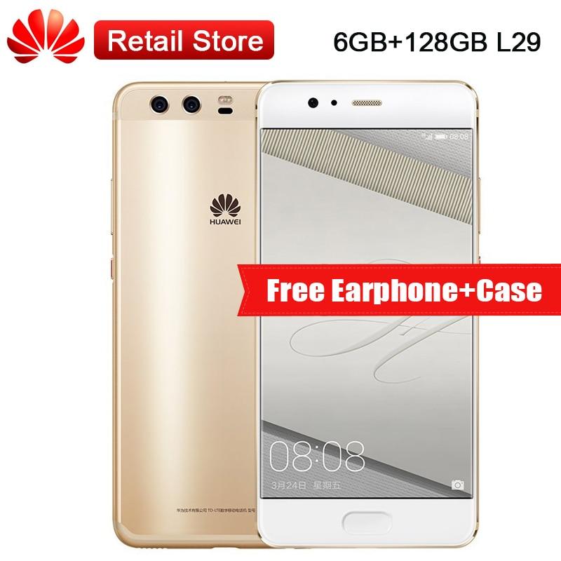 Global Huawei P10 Plus 6GB RAM 128GB ROM L29 5 5 Kirin 960 2560x1440 12MP 20MP