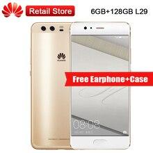 """Mondiale Huawei P10 Plus 6 GB RAM 128 GB ROM L29 5.5 """"Kirin 960 2560×1440 12MP + 20MP 3750 mAh D'empreintes Digitales OTG NFC Téléphone Intelligent OTA"""