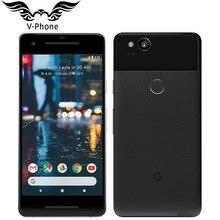 Бренд, версия ЕС, Google Pixel 2, 4G LTE, 64 ГБ, 128 ГБ, 5,0 дюйма, Восьмиядерный мобильный телефон Snapdragon 835, отпечаток пальца, Android