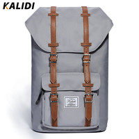 KALIDI 2017 Newest Fashion Backpacks Men Laptop Bag For Macbook Surface Backpack Men Women Travel School