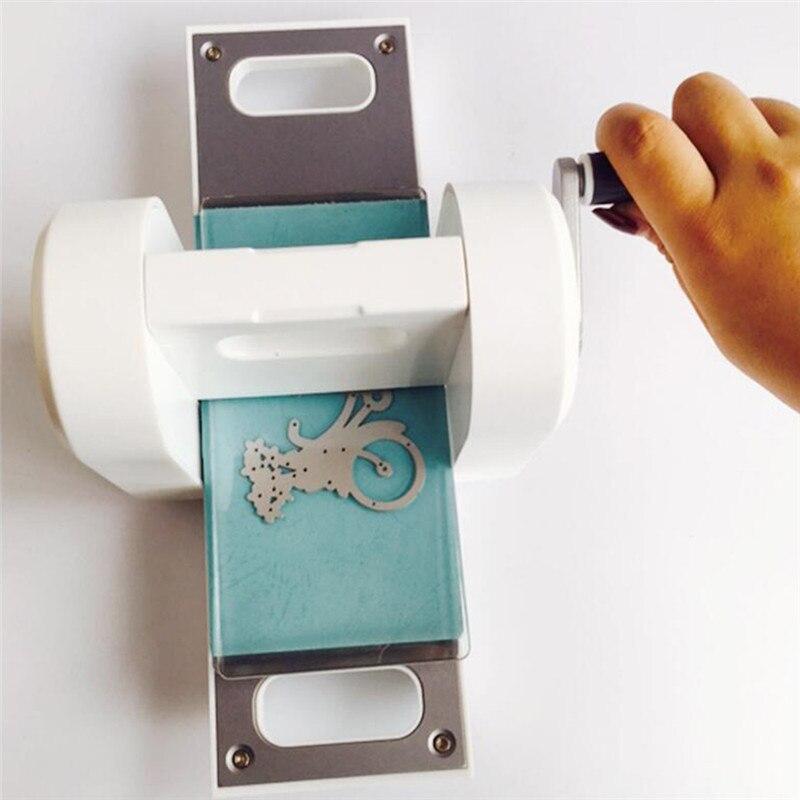 Машина для скрапбукинга высечки машина для тиснения стальная машина для скрапбукинга резак для зеленой бумаги высечки DIY машина - 3
