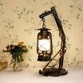 Ретро декоративная лампа  настенные светильники  лампа для комнаты  винтажная креативная железная керосиновая лампа  классические лампы дл...