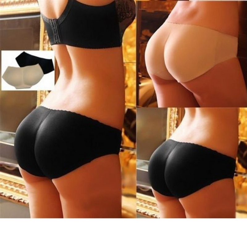 Woman Push Up Hip Up Pads Women Sexy Hip Filler Briefs Hip Pad   Panties   Padded Buttocks