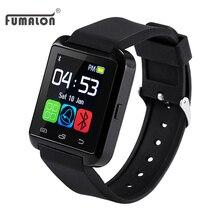 Bluetooth u8 reloj smart watch reloj para apple ios android teléfono inteligente como gt08 usable podómetro smartwatch relojes