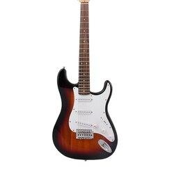 39 blau Hohl Körper Elektrische Gitarre Neck Sapele 6 Saiten St Gitarre Musical Instruments Violão Palisander Griffbrett