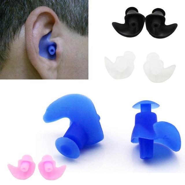 Par de Tapones de Oídos Anti-ruidos