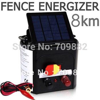 Zorasun Horse Sheep Goat Solar Electric Fence Energiser