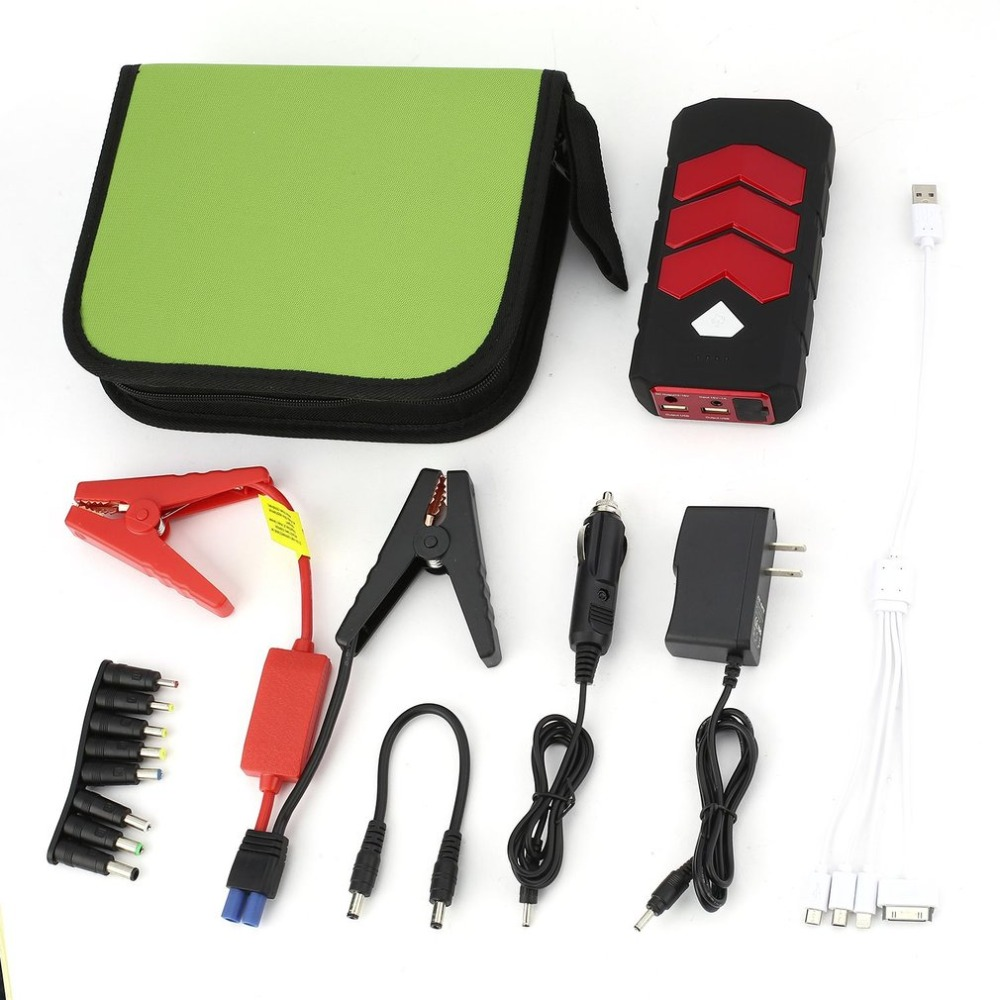 Multifunctional 50800mah Automobile Car Jump Starter Emergency Car <font><b>Battery</b></font> Booster Charger with SOS Light