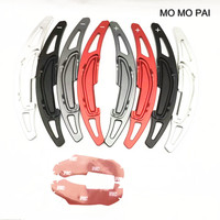 MOMO PAI Car Styling Alloy Add On Steering Wheel DSG Paddle Shifters Extension Fit For BMW