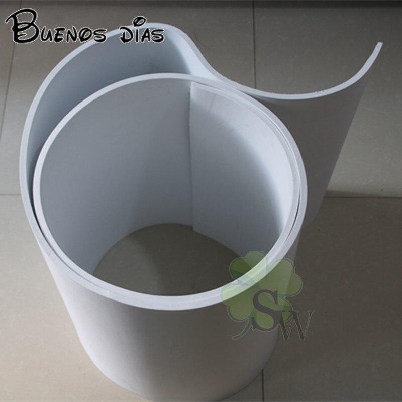 Colore bianco 10mm fogli di schiuma Eva, Artigianato fogli, progetti Scolastici, facile da tagliare, fatti a mano materiale di un rotolo di 3 m * 60 cm o 15 pz 33*40 cm
