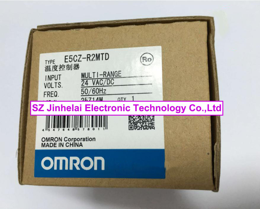 OMRON E5CZ-R2MTD 24VAC/DC New and original Count relay [zob] 100% brand new original authentic omron omron photoelectric switch e2s q23 1m 2pcs lot