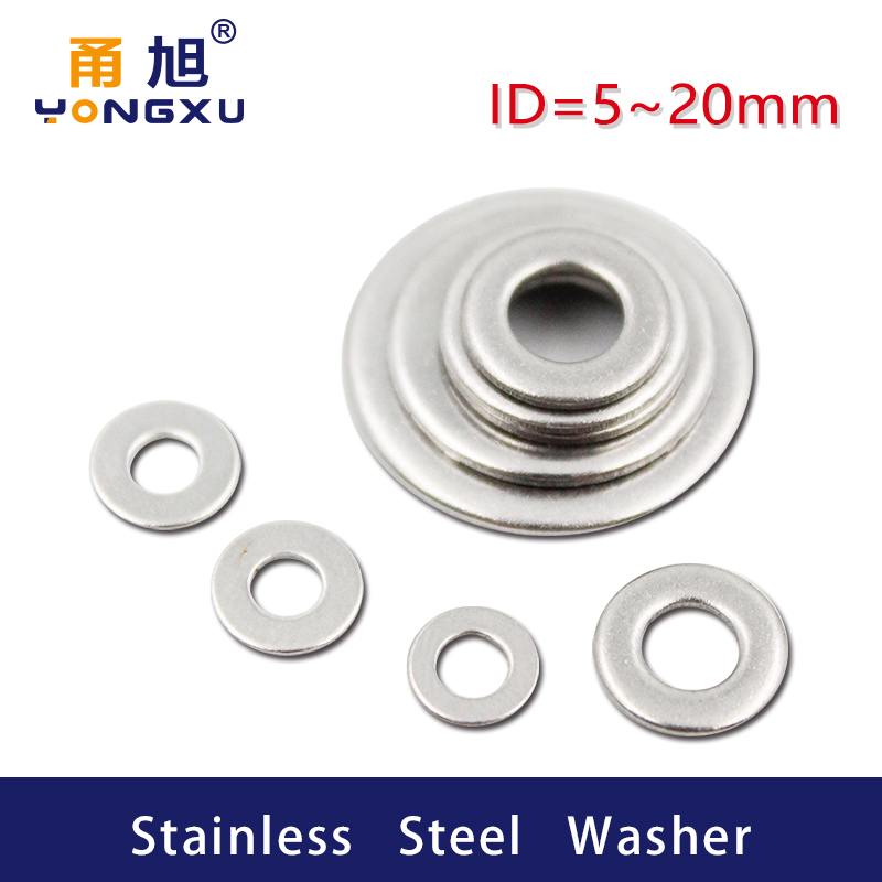 ZYAMY 900pcs M3//M4//M5//M6//M8//M10 Metal Washers Assorted Kit Flat Ring Plumbing Seal Gasket for Screws Bolts Hardware Fitting Accessories