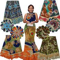 האחרון multicolur אנקרה אפריקאי כבד באיכות גבוהה 2016 בגדי בד לעיצוב תחרה תחרה ניגרית embroiderd H16102712 שעווה