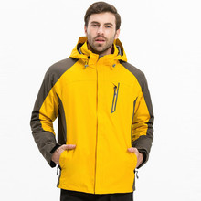 2017 Ski Jacket Winter Windproof Waterproof Sports 3 in 1 Jackets For Men Mountain Skiing Camping Snowboard Warm Clothes 2018 wintet ski suit men outdoor 3 in 1 jackets pants waterproof windproof snow snowboard warm clothes mountain skiing for men